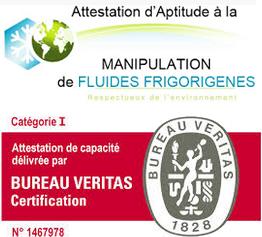 logo Véritas accréditation